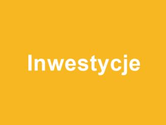 odnośnik do zakładki Inwestycje