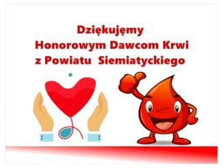 grafika powiat honorowi dawcy krwi